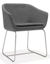 contemporary sled base chair DUNE by Monica F&ouml;rster Modus