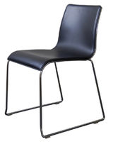 contemporary sled base chair IRONY  JAVORINA