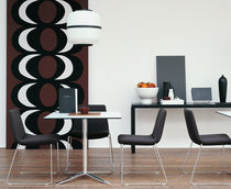 contemporary sled base stacking chair COSMOS by Jeffrey Bernett B&B Italia