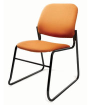 contemporary sled base stacking chair ATOM AIS