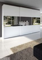 contemporary sliding door mirrored wardrobe GEOMAX mazzali spa