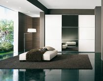 contemporary sliding door mirrored wardrobe  Sangiorgio Mobili