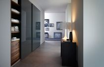 contemporary sliding door wardrobe in glass LATVIA-LA3 Kallmar