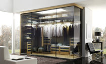 contemporary sliding door wardrobe in glass EROS WARDROBE Planum, Inc.