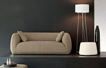 contemporary sofa FASHION SUPERSOFT by P.Lucidi &amp; L.Pevere Calligaris Italian home design since 1923