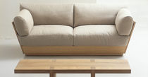 contemporary sofa in certified wood (FSC-certified) SPRINGBOARD by Terence Conran BENCHMARK