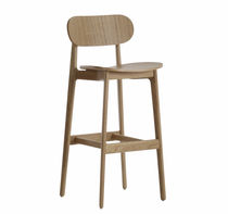 contemporary solid wood bar chair PLC by PearsonLloyd Modus