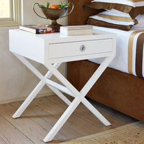 contemporary solid wood bed-side table HUDSON  Williams Sonoma Home