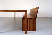 contemporary solid wood bench FORMAT  Sanktjohanser
