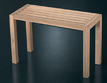 contemporary solid wood bench SGA070IRNT RARE