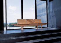 contemporary solid wood bench TRIENAL : BC 7004 by L.A.Molina Andreu World
