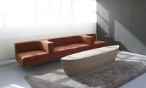 contemporary solid wood bench ARC by Bertjan Pot Arco Contemporary Furniture