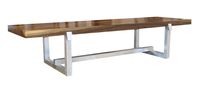 contemporary solid wood bench DONATO Costantini Design