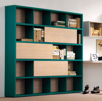 contemporary solid wood bookcase CHARM Clever