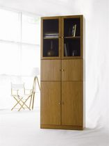 contemporary solid wood bookcase ANNE HORREDS