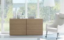 contemporary solid wood chest of drawers FILNOX CACCARO