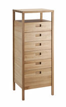 contemporary solid wood chest of drawers DALIDA Coco-Mat