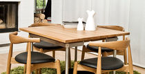 contemporary solid wood dining table CH316 by Hans J. Wegner Carl Hansen & Son