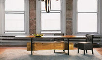 contemporary solid wood dining table 0030 JOHN HOUSHMAND