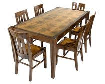 contemporary solid wood dining table EGW SMC Furnishings