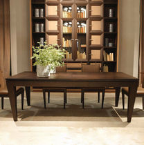 contemporary solid wood dining table C1415 ANNIBALE COLOMBO