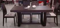 contemporary solid wood dining table MONACO Xdesign Chrysovitsiotis