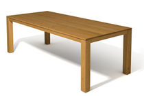 contemporary solid wood dining table ET200 JAVORINA