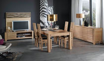 contemporary solid wood dining table CLOROFIL Lasserre