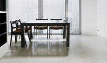 contemporary solid wood dining table NIVEN PAU
