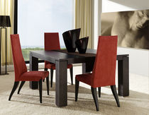 contemporary solid wood dining table EROS Planum, Inc.