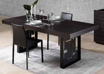 contemporary solid wood dining table TOKYO GUARANTEE by GIOGATZIS