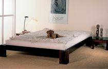 contemporary solid wood double bed TOKYO Cinius