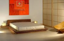 contemporary solid wood double bed TOKI Cinius