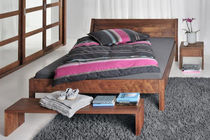 contemporary solid wood double bed VILLA vitamin design (Dona Handelsges. mbH)
