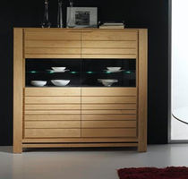 contemporary solid wood high sideboard CLOROFIL  Lasserre