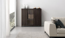 contemporary solid wood high sideboard ES·SENCIAL Planum, Inc.