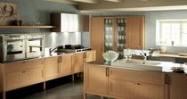 contemporary solid wood kitchen (ash) SUPRÊME by Castiglia Associati ERNESTOMEDA