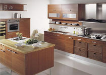 contemporary solid wood kitchen (cherrywood) MERLOT BLOCK