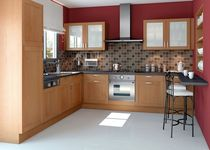contemporary solid wood kitchen (linden) PARGAS SAGNE