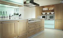 contemporary solid wood kitchen (oak) SHAKER BOIS Hardy Inside