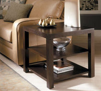 contemporary solid wood side table AVANT GARDE LEDA Furniture