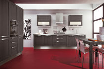 contemporary solid wood / stainless steel kitchen GAIA CUCINE LUBE