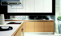 contemporary solid wood / stainless steel kitchen VERVE by Castiglia Associati ERNESTOMEDA
