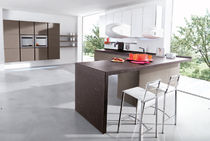 contemporary solid wood / stainless steel kitchen TRENDY Corazzin Group - Contract &amp; hotel