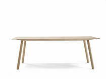 contemporary solid wood table NOMAD by Jorre van Ast Arco Contemporary Furniture