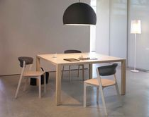 contemporary solid wood table EXPRESSION by Willem van Ast Arco Contemporary Furniture