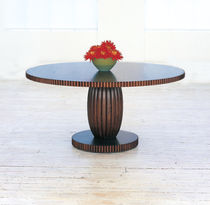 contemporary solid wood table BALLOON William Yeoward