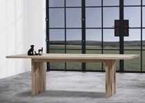 contemporary solid wood table SENCE zen5