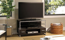 contemporary solid wood TV cabinet EDGE  BUSH INDUSTRIES