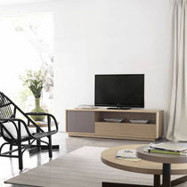 contemporary solid wood TV cabinet BASIC: T311-R by Studio expormim expormim